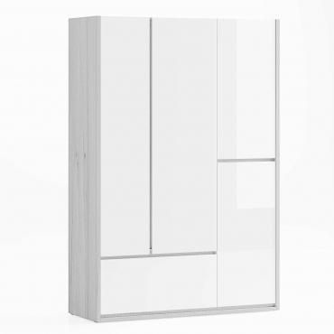 Dormitor Berna - Dulap alb lucios