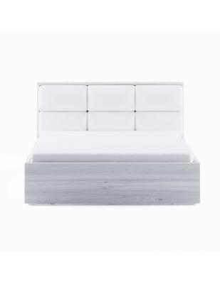 Dormitor Berna - Pat 1600 alb lucios