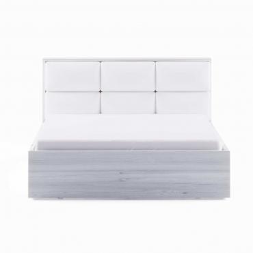 Dormitor Berna - Pat 1400 alb lucios