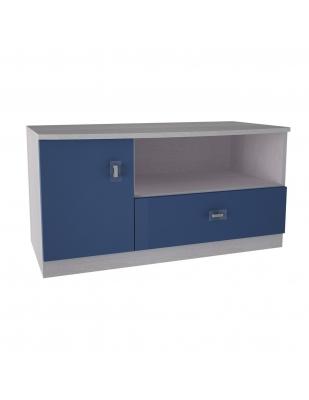 Sistem Pinochio - comodă TV albastru