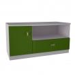 Sistem Pinochio - comoda TV verde