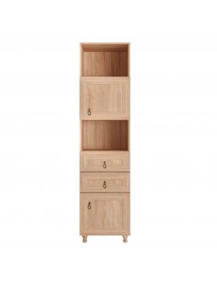 Etajeră living cu 2 uși și 2 sertare stejar Bardolino, 500 mm - Atena