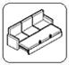 Sistem de extensie tip sertar fără ladă